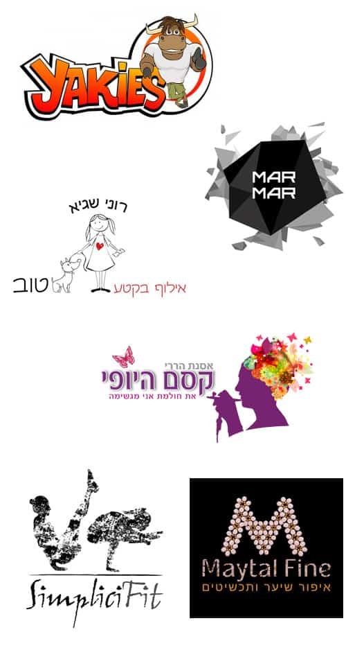 עיצוב לוגו דוגמאות